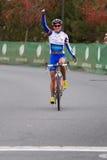 Katerina Nash - Pro Woman Cyclocross Racer Stock Images