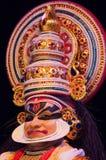 Kathakali, κλασσικό νότιο ινδικό χορός-δράμα Στοκ Εικόνα