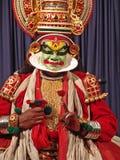kathakali χορού Στοκ φωτογραφίες με δικαίωμα ελεύθερης χρήσης