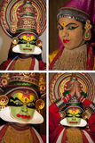 kathakali Индии танцора cochin стоковое фото
