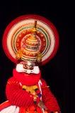 Kathakali, классическая южная индийская танц-драма Стоковые Фотографии RF