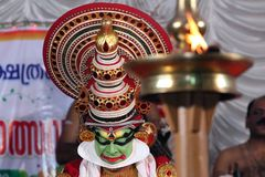 Kathakali Photographie stock libre de droits