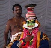 Kathakali Fotografie Stock