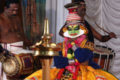 Kathakali Fotografia Royalty Free