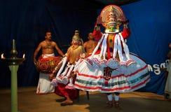 Kathakali стоковые изображения
