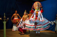 Kathakali stock afbeeldingen