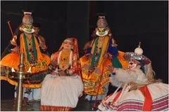 Kathakali Foto de archivo libre de regalías