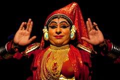 Kathakali actor in India royalty free stock photo