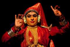 Kathakali actor in India royalty free stock image
