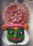 Kathakali affronta l'artigianato fotografia stock