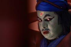 Kathakali artist Royalty Free Stock Photos