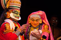 Kathakali, classical South Indian dance-drama Stock Photo