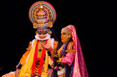 Kathakali, classical South Indian dance-drama Stock Images