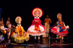 Kathakali, classical South Indian dance-drama Royalty Free Stock Image