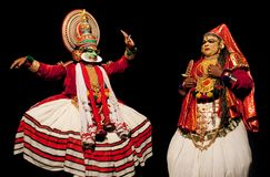 Kathakali dance Stock Photography