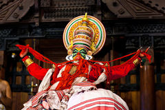Kathakali Dance in Fort Cochin, Kerala, India stock photos