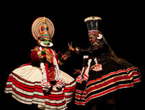 Kathakali Dance in Kerala, India Royalty Free Stock Photography