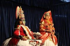 Kathakali Dancer Stock Image