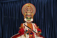 Kathakali Dancer Royalty Free Stock Image