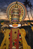 Kathakali Dancer - Cochin - India Royalty Free Stock Photography