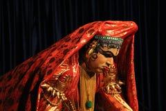Kathakali Dancer Stock Photography