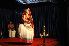 Indian Classical Dance Stock Image