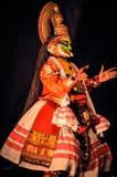 Kathakali drama in Kerala Royalty Free Stock Images