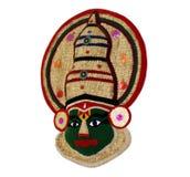Kathakali Face handicraft Stock Photos