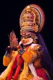 Kathakali, klassiek Zuiden Indisch dans-drama Stock Afbeeldingen