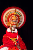 Kathakali, klassiek Zuiden Indisch dans-drama Royalty-vrije Stock Foto's