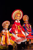 Kathakali, klassiek Zuiden Indisch dans-drama Royalty-vrije Stock Fotografie