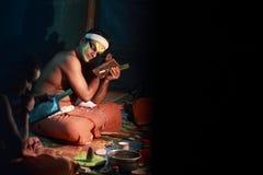 Kathakali  make up Stock Photo