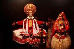 Kathakali performance Stock Images
