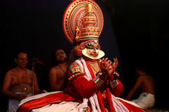 Kathakali performance Royalty Free Stock Photo