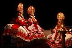 Kathakali performance Royalty Free Stock Photos