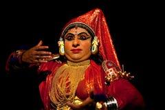 Kathakali performer Royalty Free Stock Photos