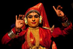 Kathakali performer Stock Image