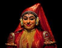 Kathakali performer stock photography