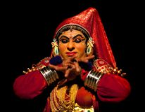 Kathakali performer Royalty Free Stock Photography