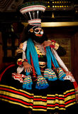 Kathakali performer Royalty Free Stock Image