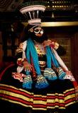 Kathakali performer royalty free stock image