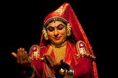 Kathakali performers stock photo