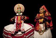 Kathakali performers stock images