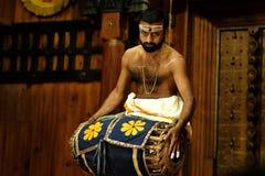 Kathakali przedstawienie Fotografia Royalty Free