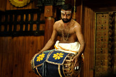 Kathakali-Show Lizenzfreie Stockfotografie