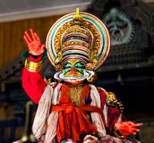 Kathakali Show in Kerala, India Stock Image