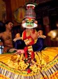 Kathakali Show in Kerala, India Stock Photography