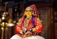 Kathakali Show in Kerala, India royalty free stock photos