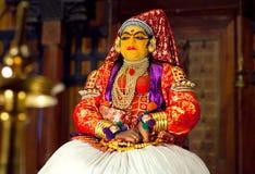 Kathakali Show in Kerala, India Royalty Free Stock Image
