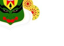 Kathakali stawia czoło Zdjęcie Royalty Free
